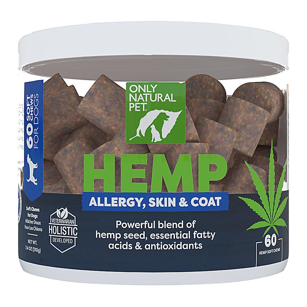 Theall-natural hemp allergy, skin, and coat soft chews