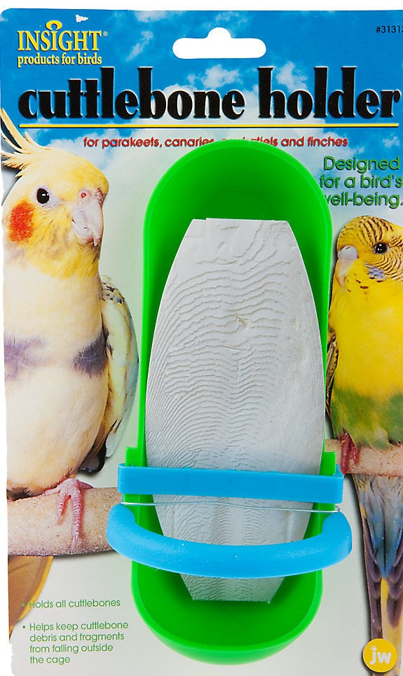 Thecuttlebone bolt-on bird holder