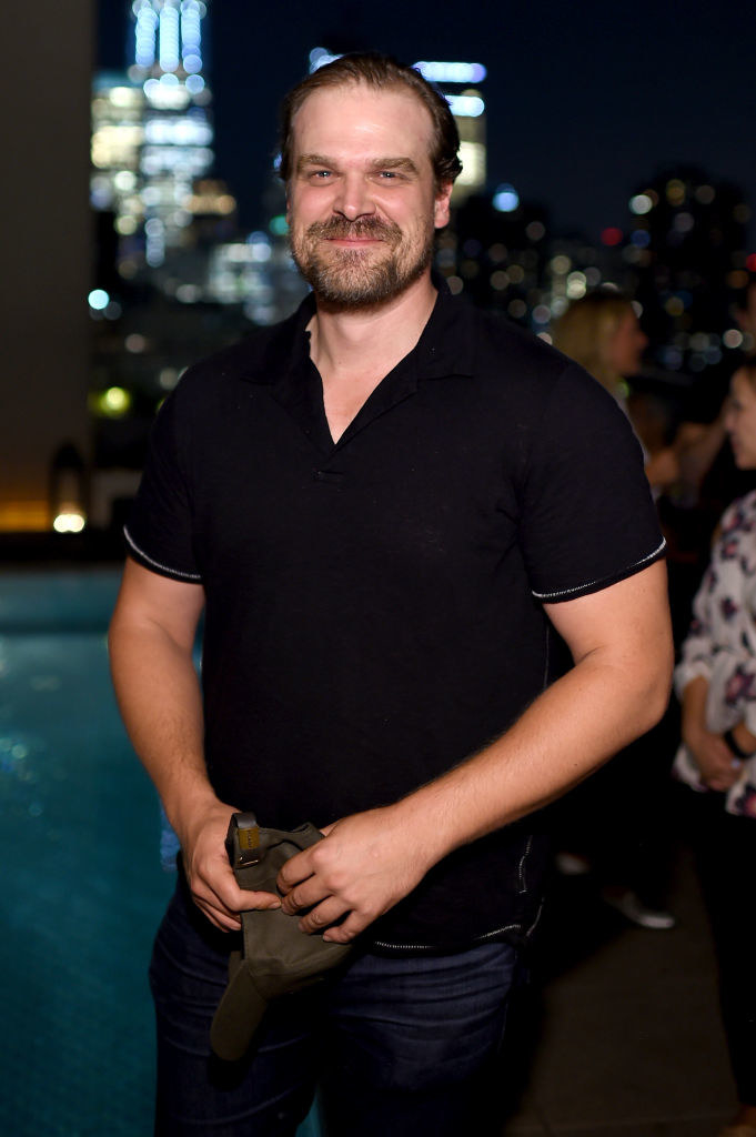"""David Harbour attends the """"Fun Mom Dinner""""- After Party"""