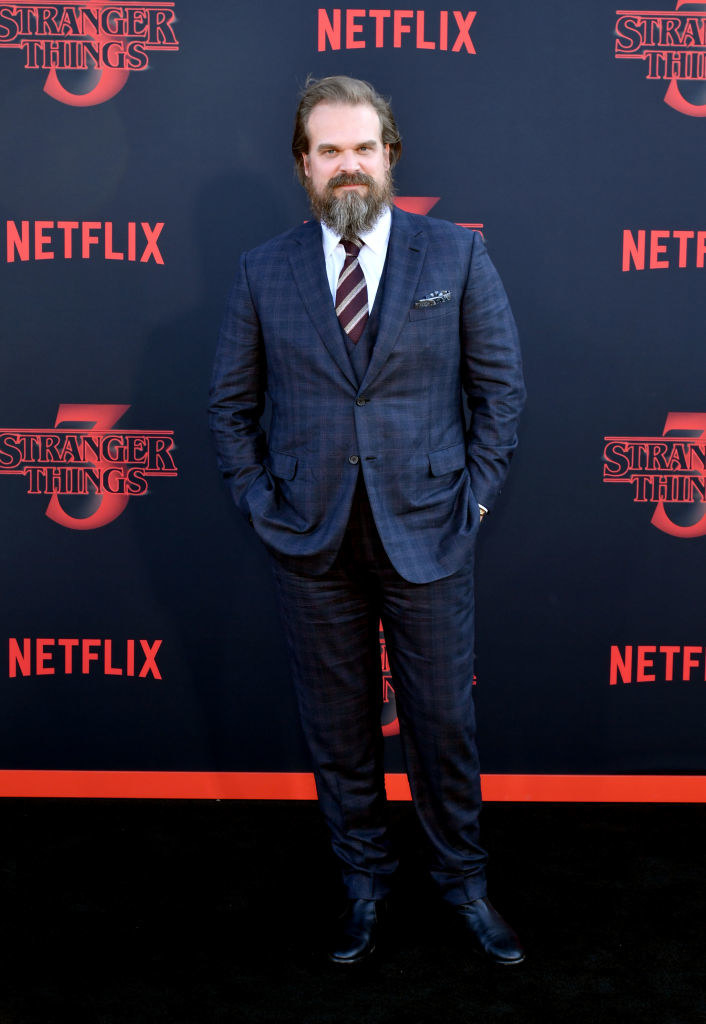 """David Harbour attends the premiere of Netflix's """"Stranger Things"""" Season 3"""