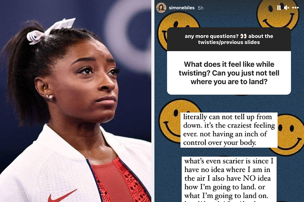 """Simone Biles Explained Exactly What Happened During Her """"Petrifying"""" Vault After Previously Saying She Could """"Literally Die"""" If It Went Wrong"""
