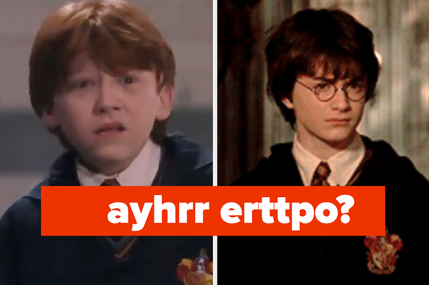 """If You Can Unscramble These """"Harry Potter"""" Names, You've Got A Higher IQ Than Hermione"""