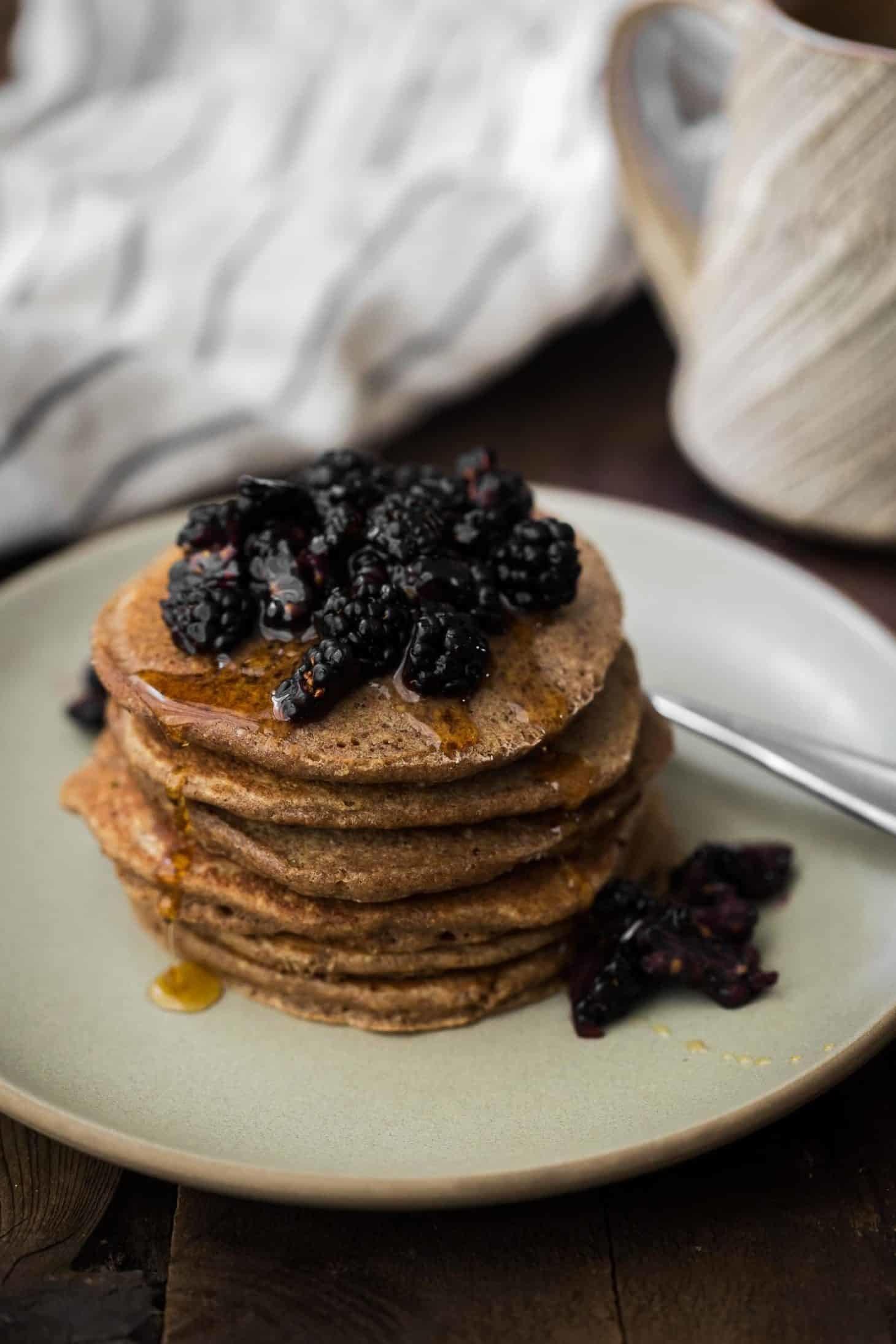 Oat Teff Pancakes