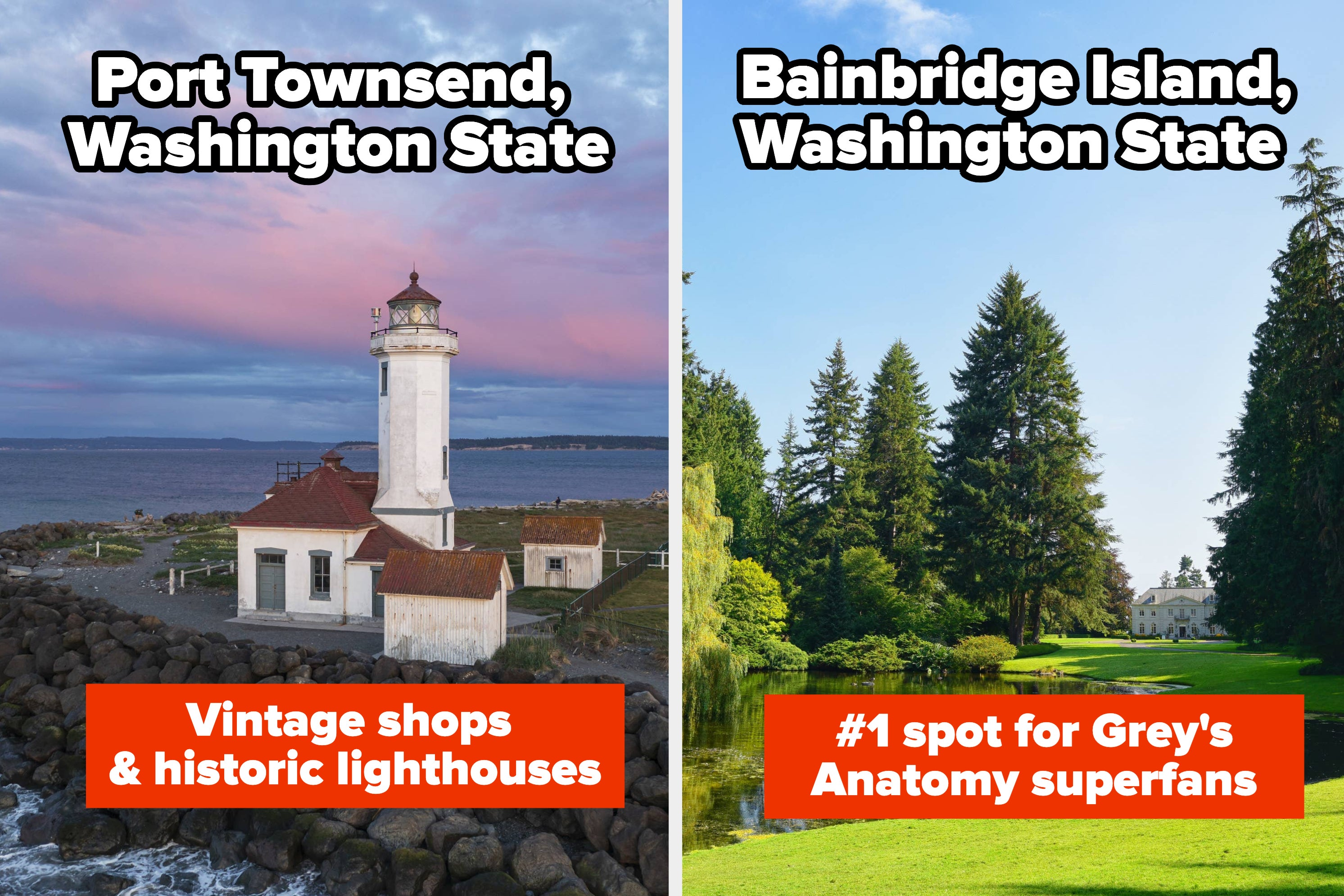 These Scenic Small Towns In Washington State Will Give You Total Cottage Core Vibes