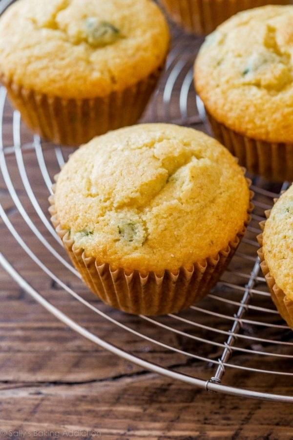 Jalapeño Cornbread Muffins