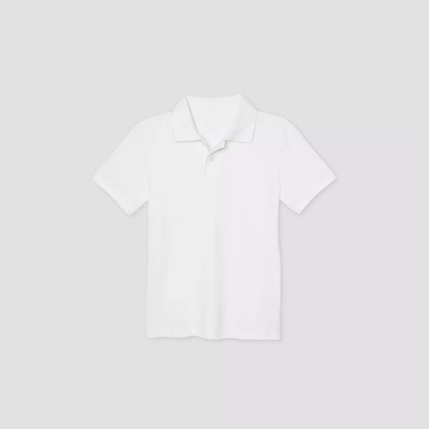 The white collared shirt
