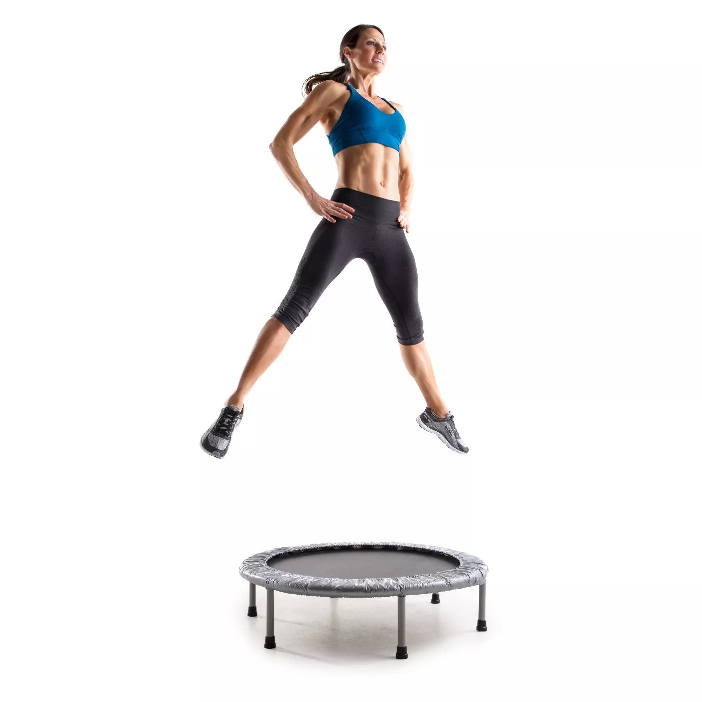 A model using the trampoline