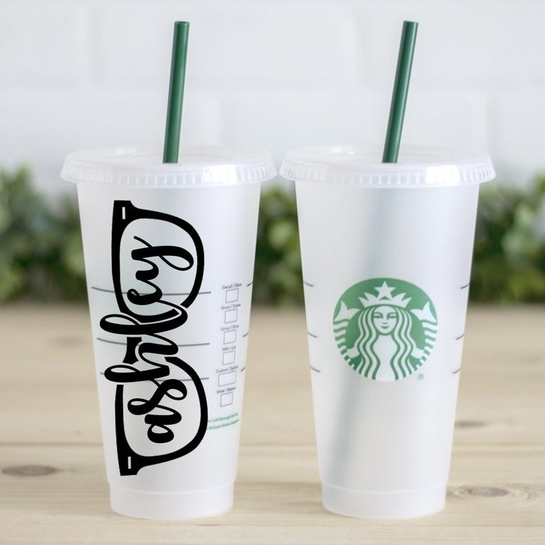 Personalized glasses cold tumbler