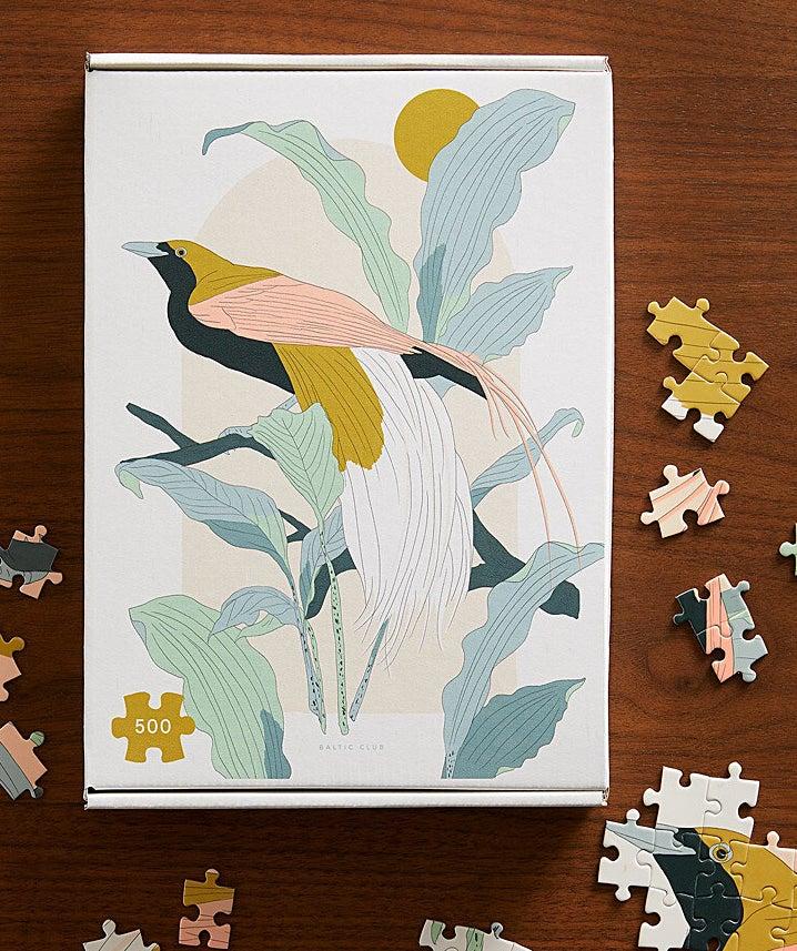a floral puzzle