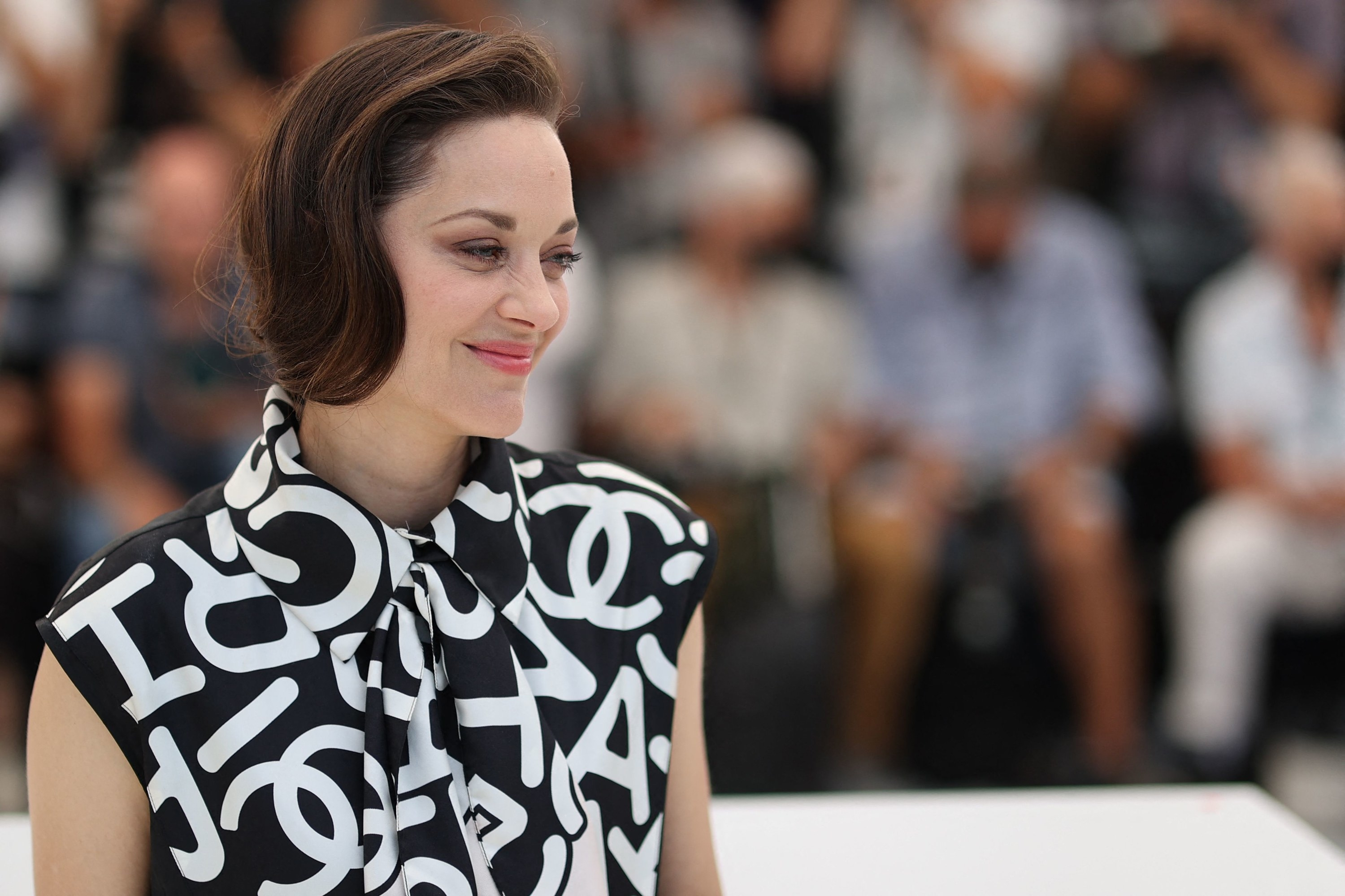 """Marion Cotillard is photographed ahead of the """"Annette"""" premiere at the Cannes Film Festival"""