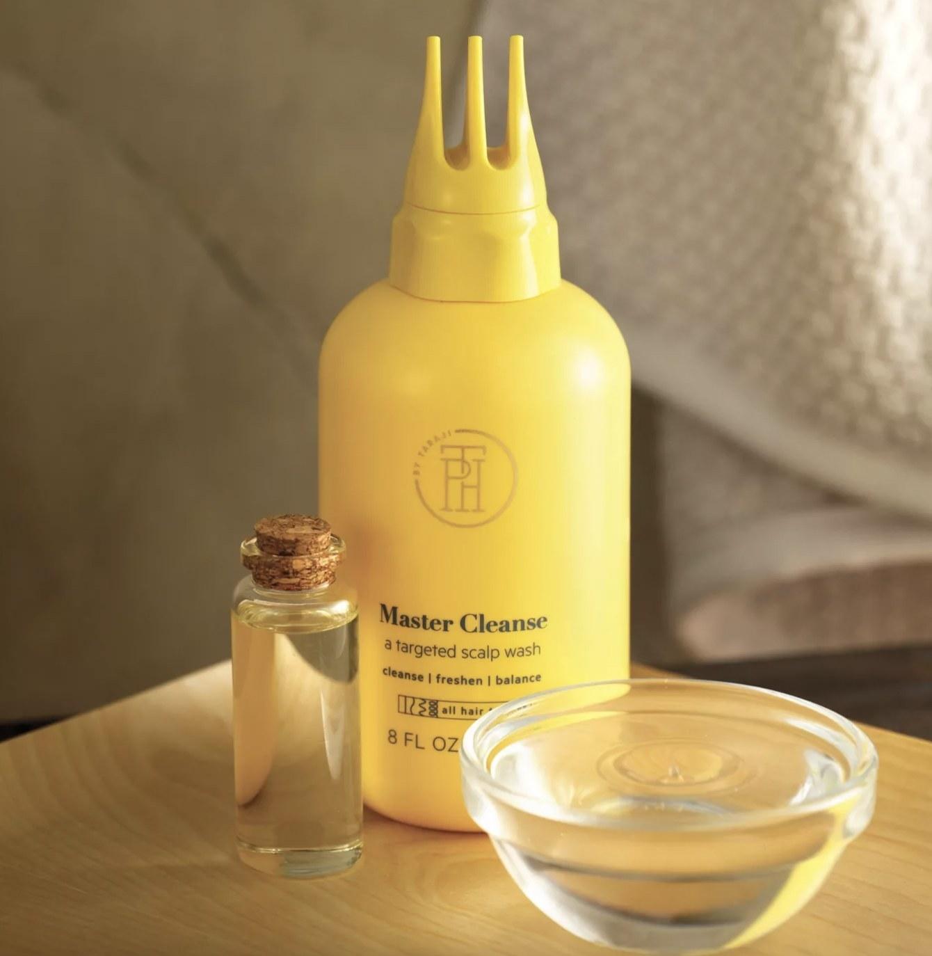 A bottle of scalp wash