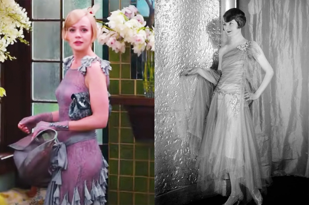 Daisy's dress is fairly similar, albeit with less tulle
