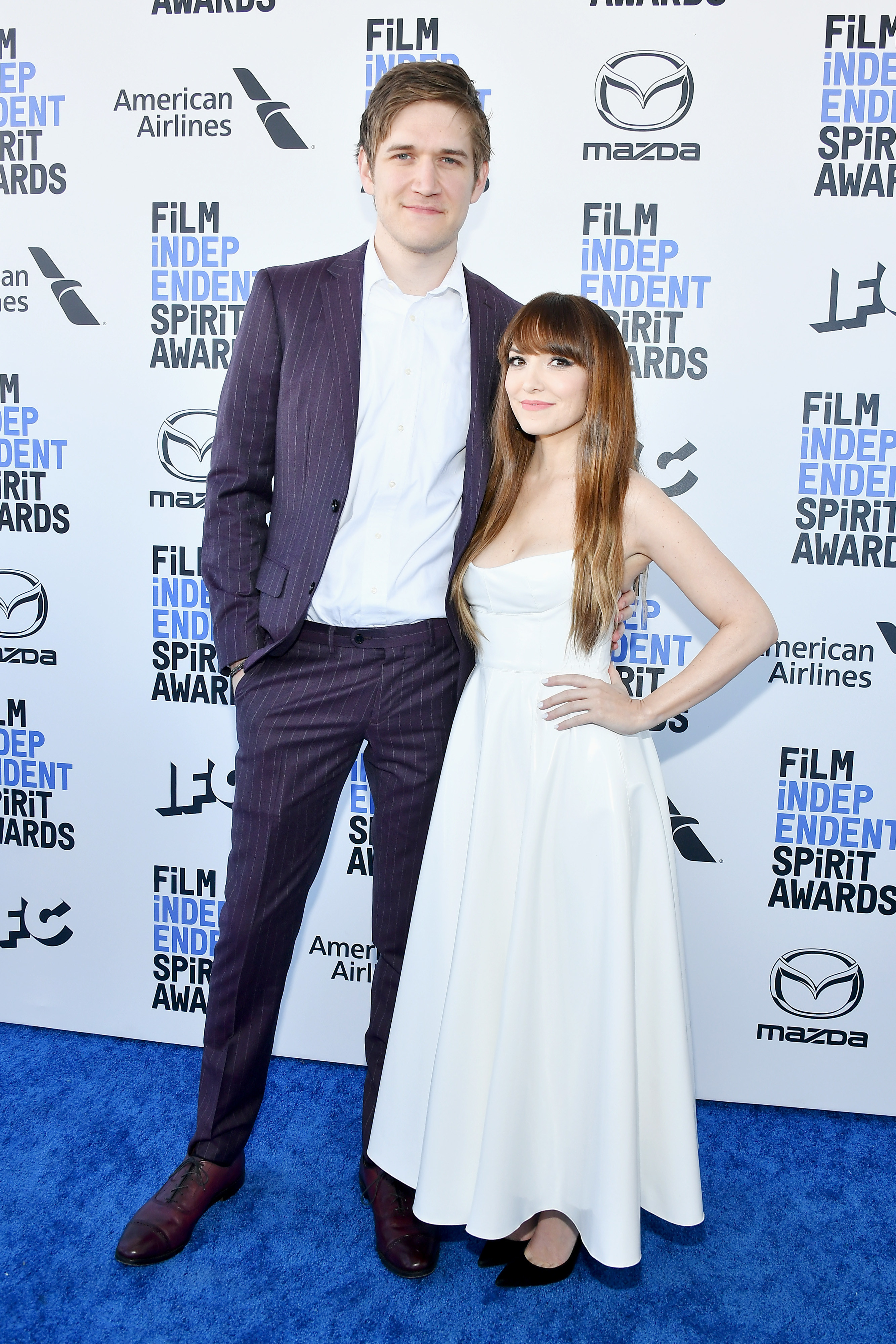 Bo andLorene on the Independent Spirit Awards red carpet