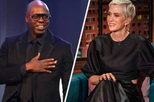 Dave Chappelle and Kristen Wiig