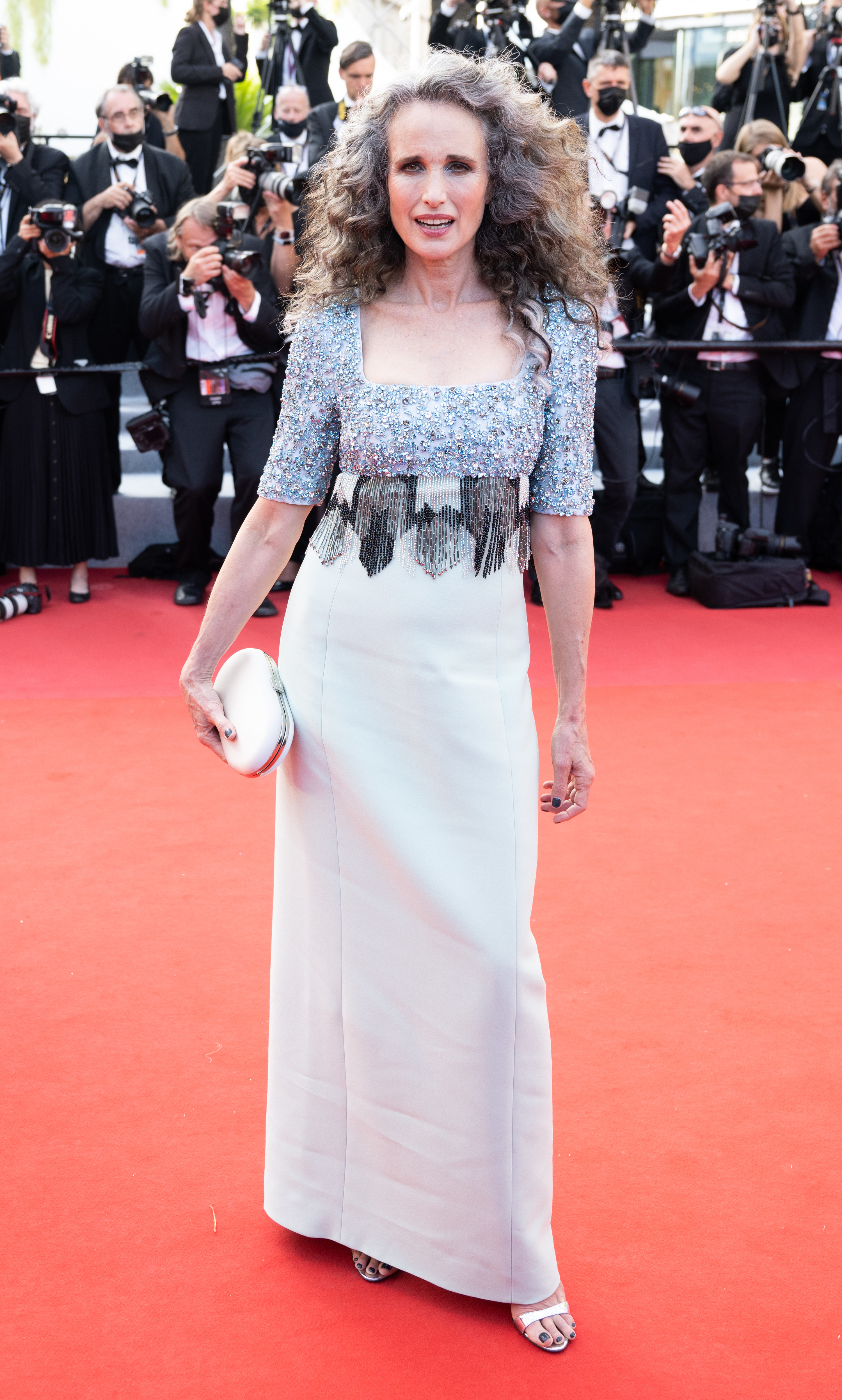 Andie McDowell at the Cannes Film Festival