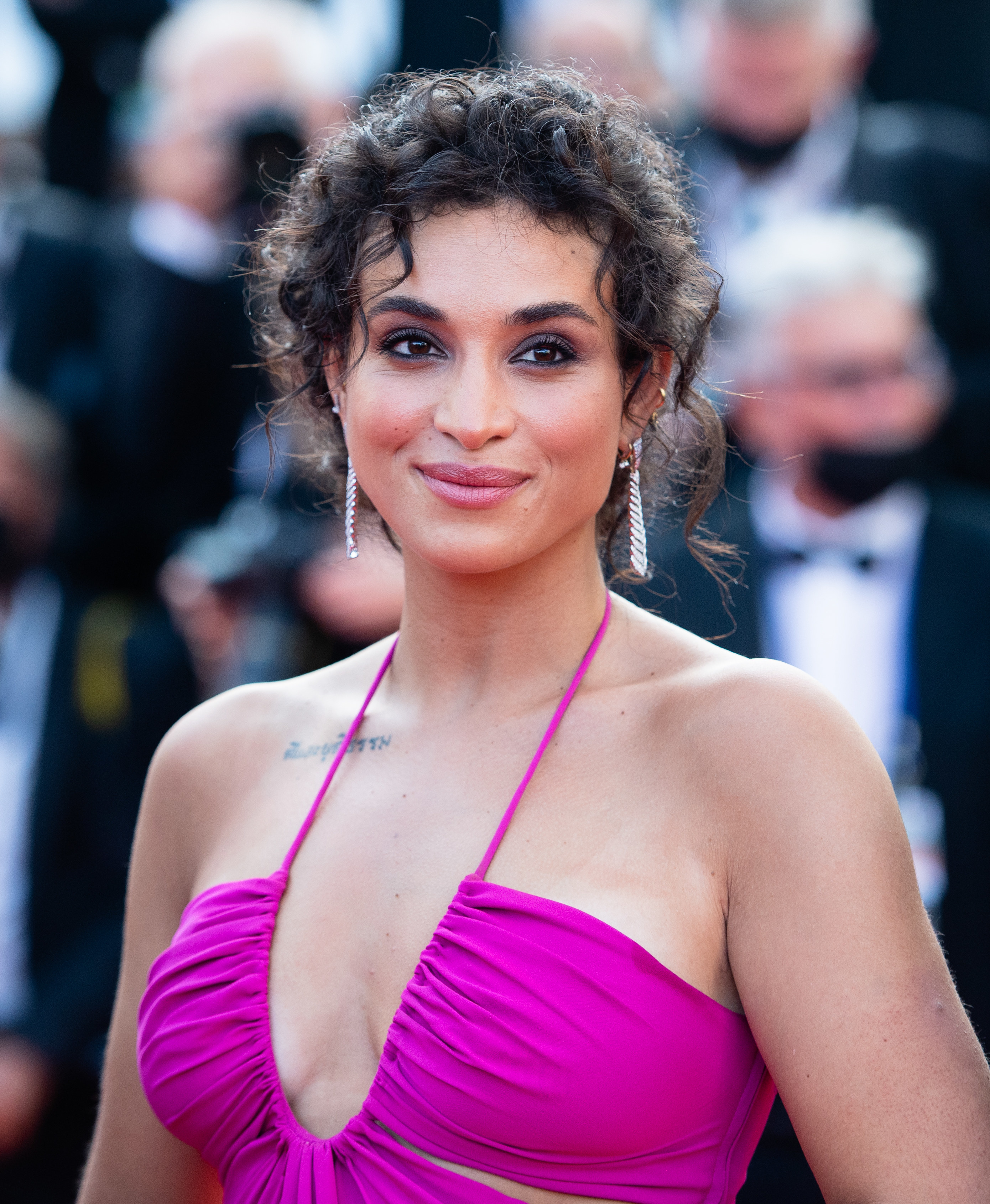 Camélia Jordana at the Cannes Film Festival