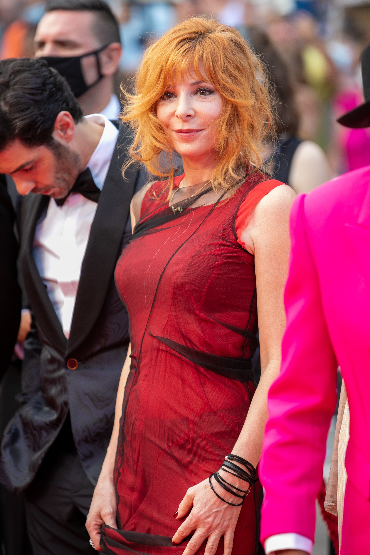 Mylene Farmer at the Cannes Film Festival
