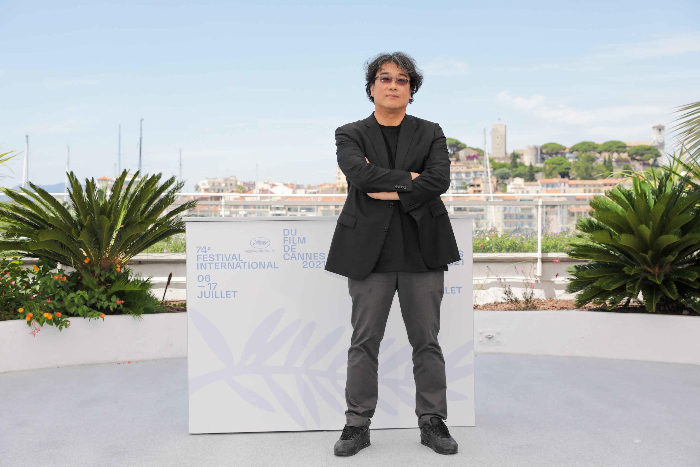 Bong Joon-Ho at the Cannes Film Festival