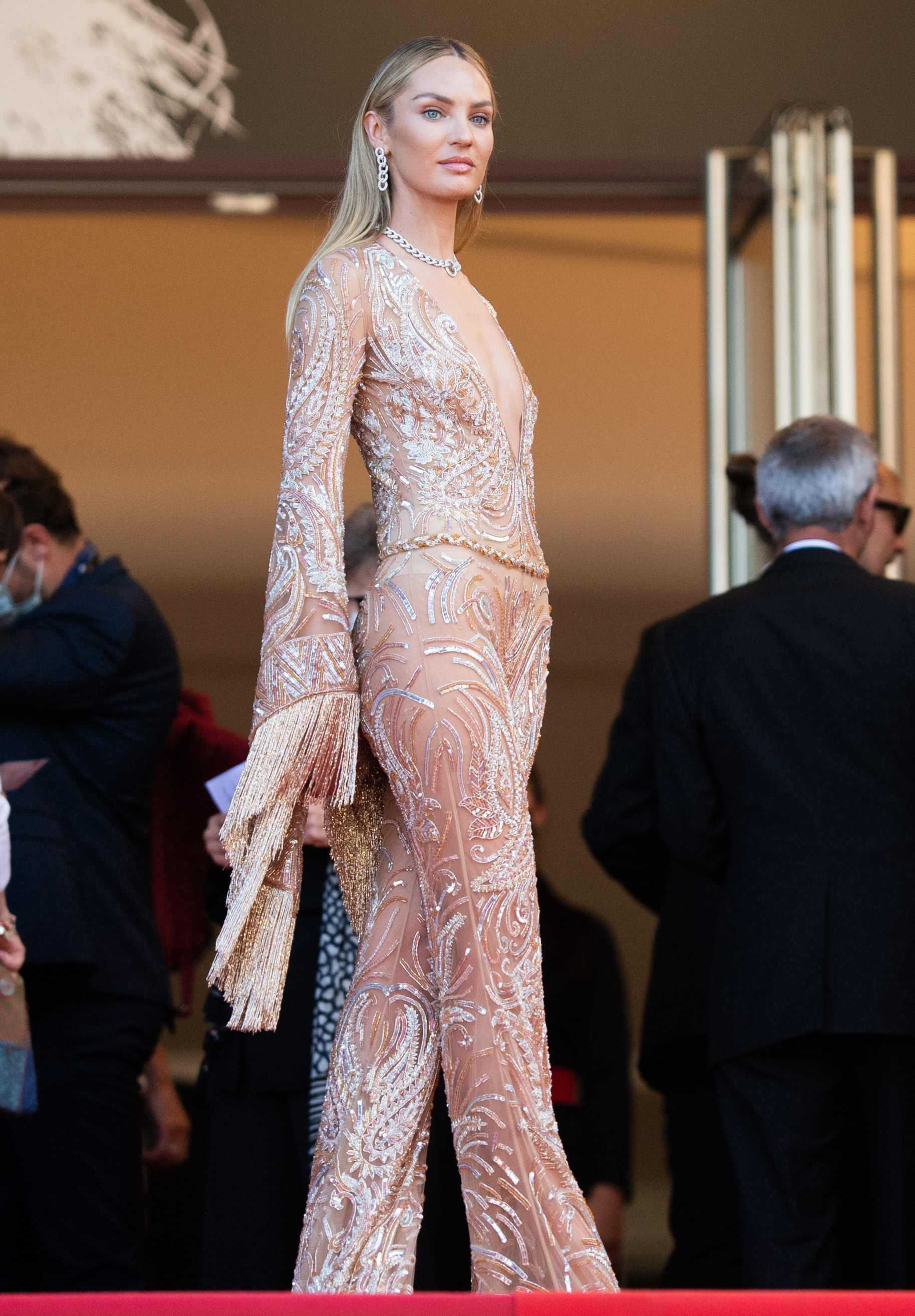 Candice Swanepoel at the Cannes Film Festival