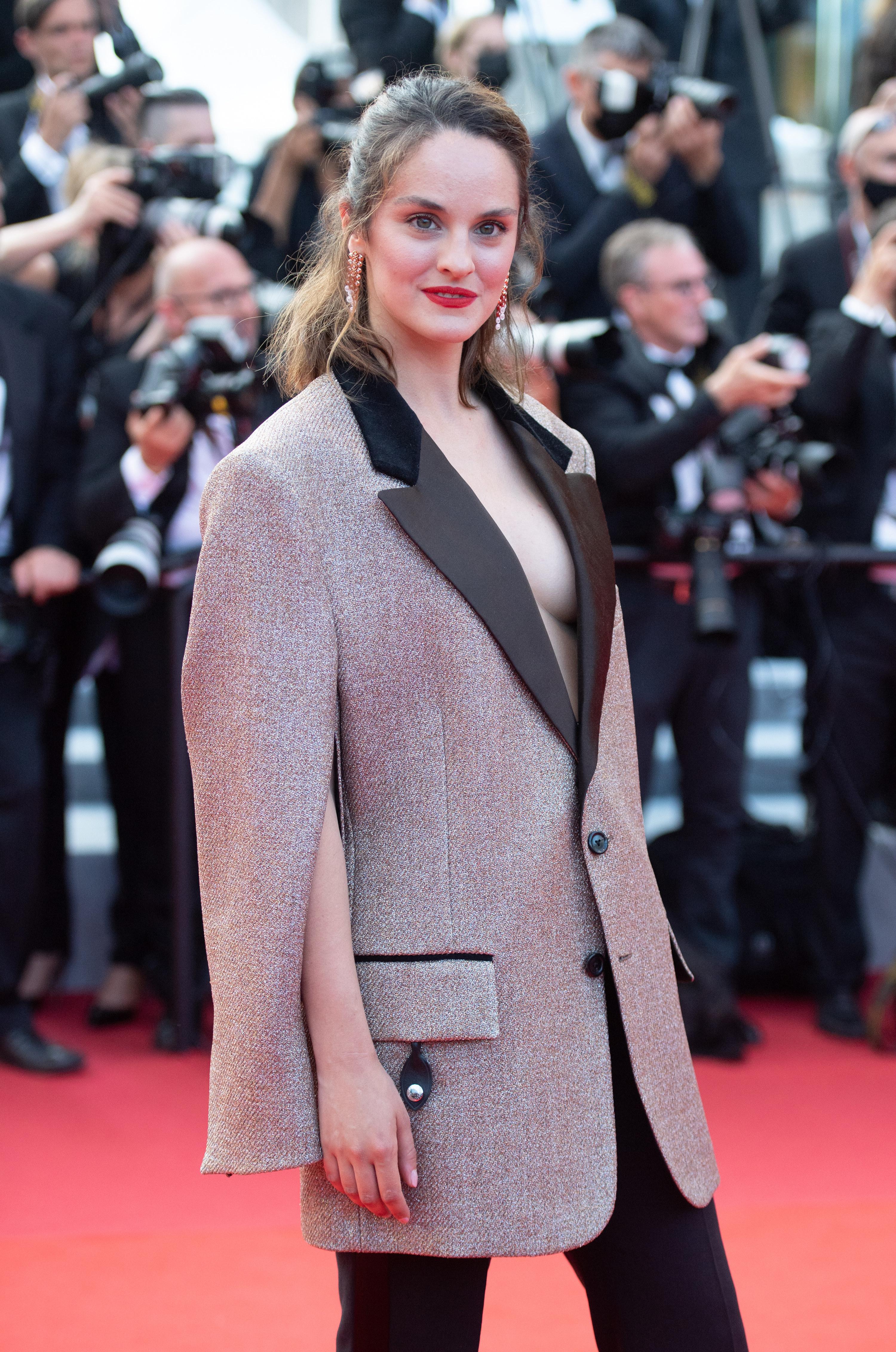 Noemie Merlant at the Cannes Film Festival