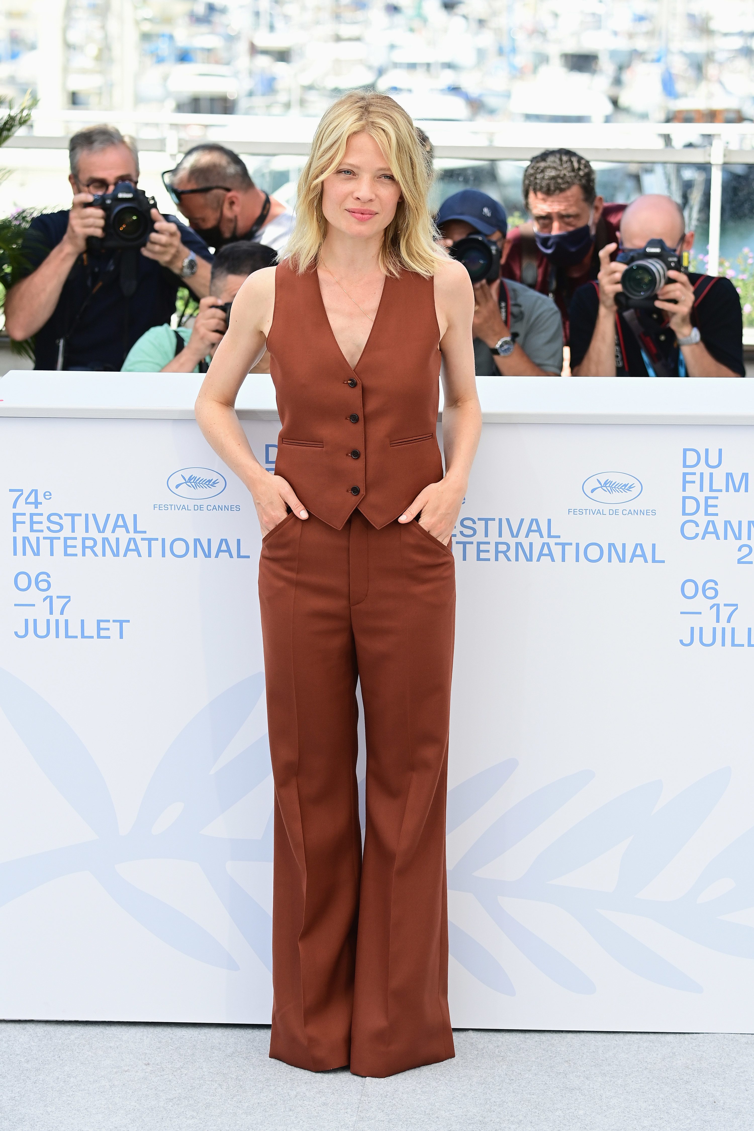 Melanie Thierry at the Cannes Film Festival