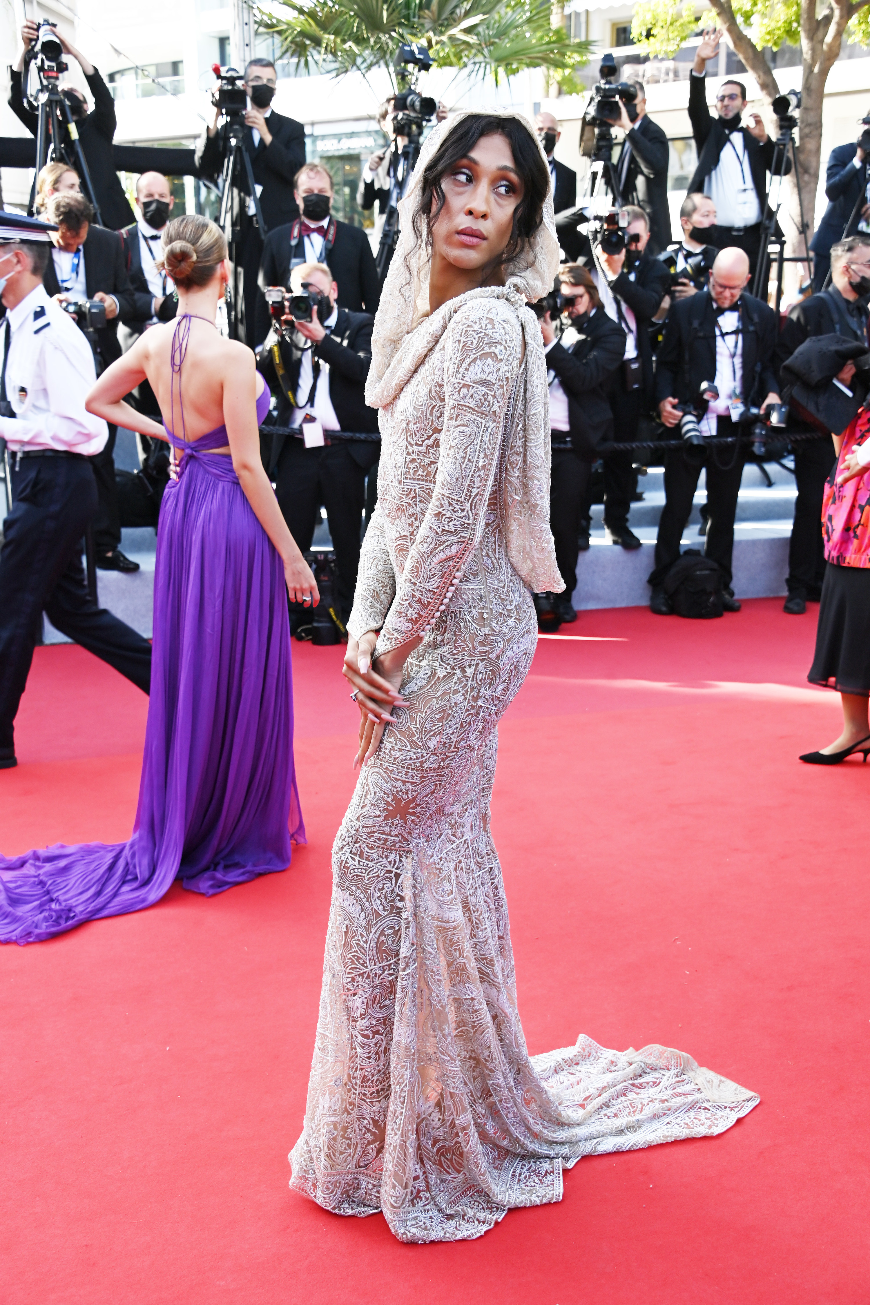 MJ Rodriguez at the Cannes Film Festival