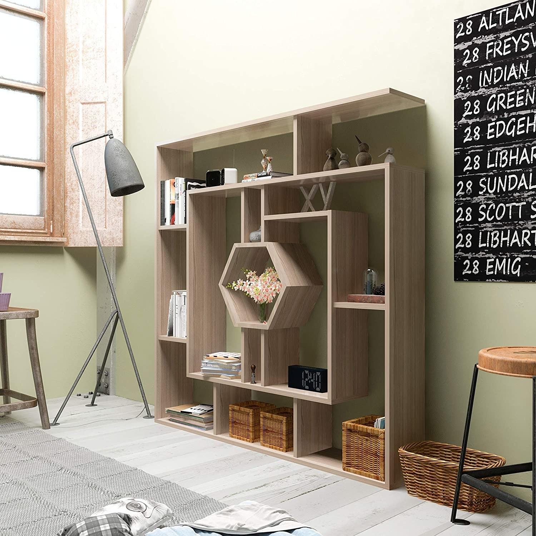 the cordoba geometric bookcase