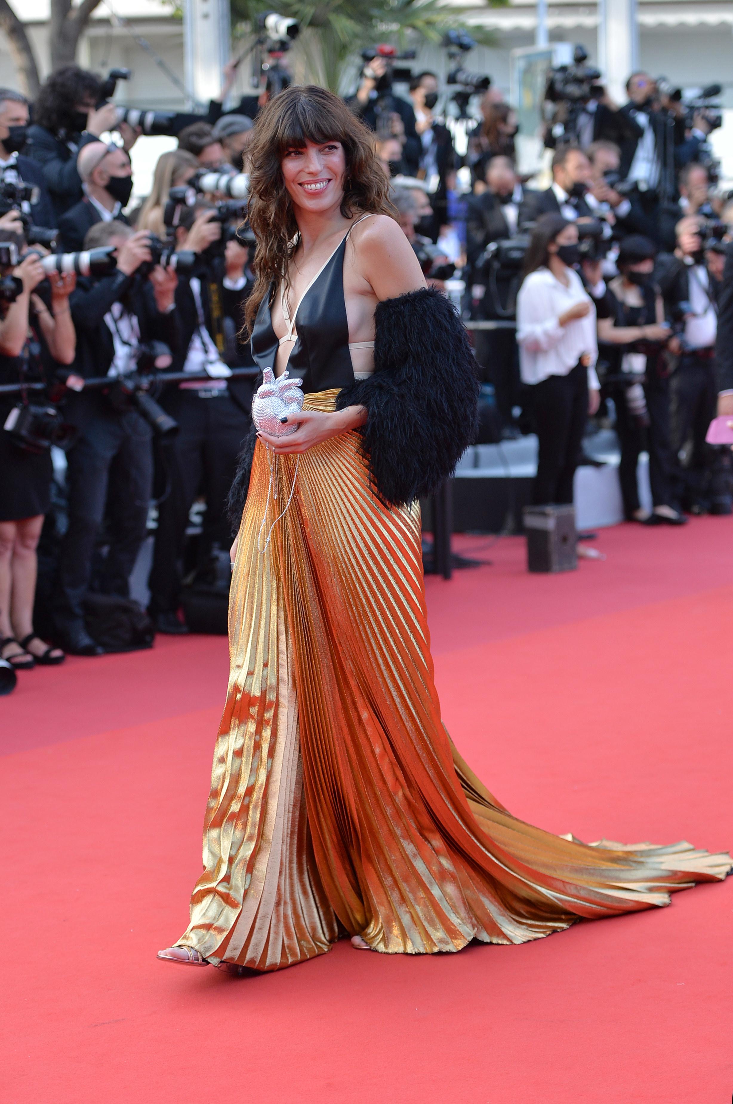 Lou Doillon at the Cannes Film Festival
