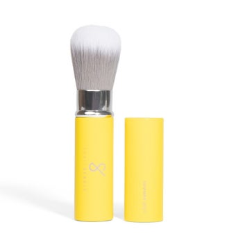 the yellow brush with cap