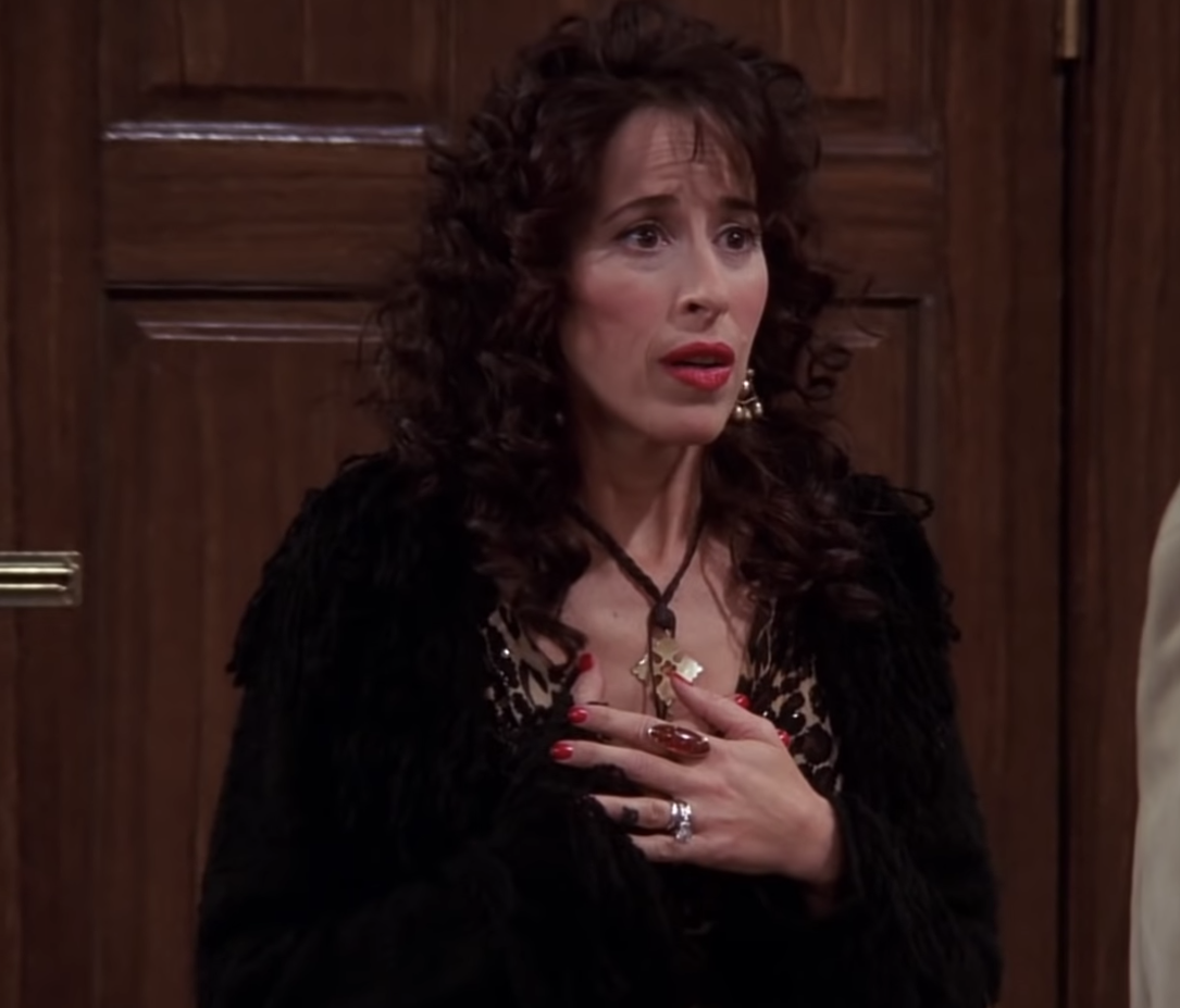 Flattered Janice from Friends