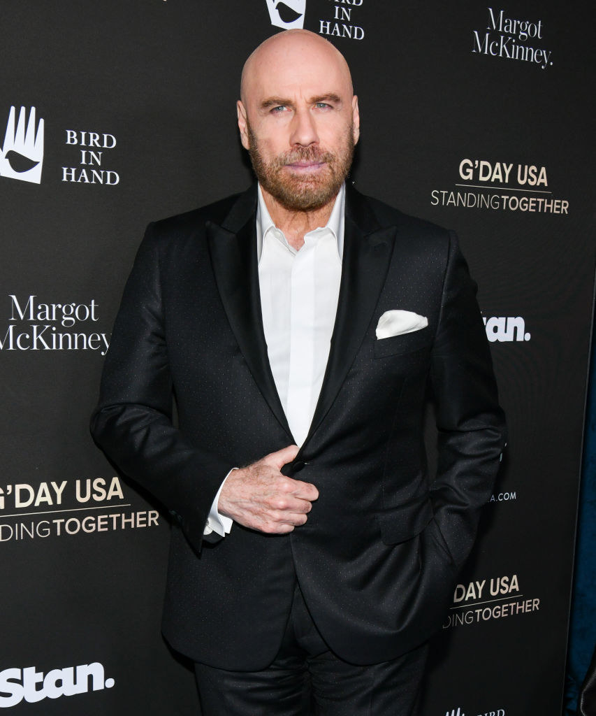 Bald in 2020 on the red carpet