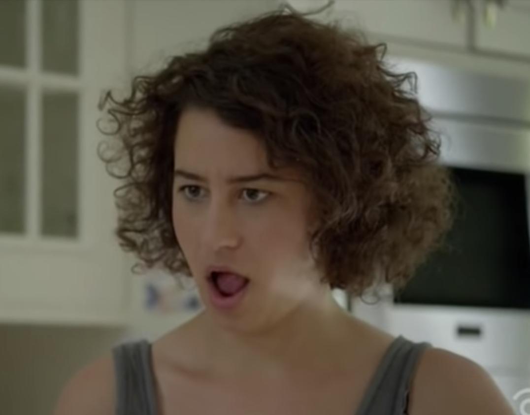 Shocked Ilana Glazer