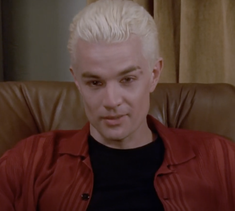 """James Marsters as Spike in """"Buffy the Vampire Slayer"""""""