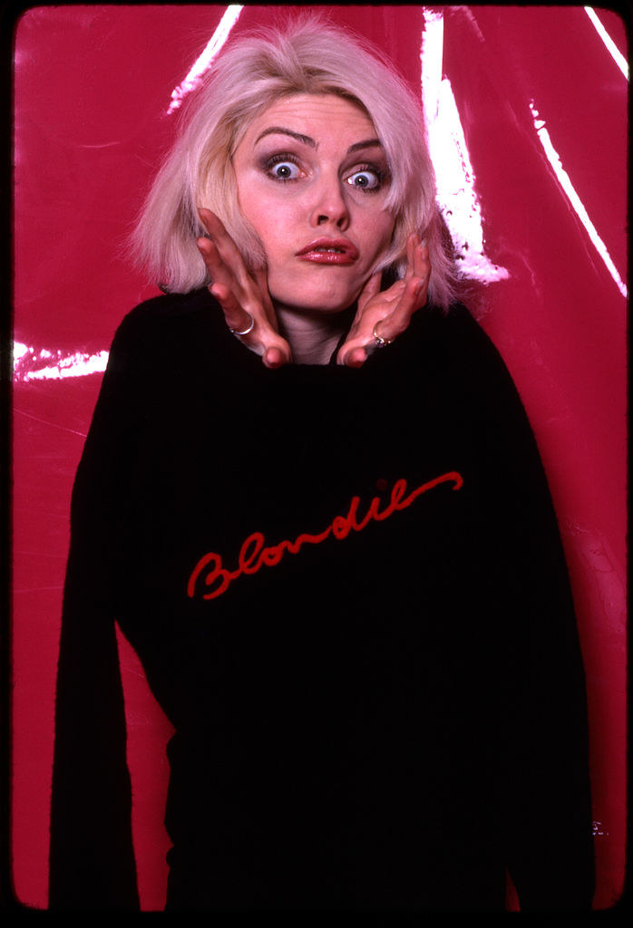 A Blondie photo shoot that is silly