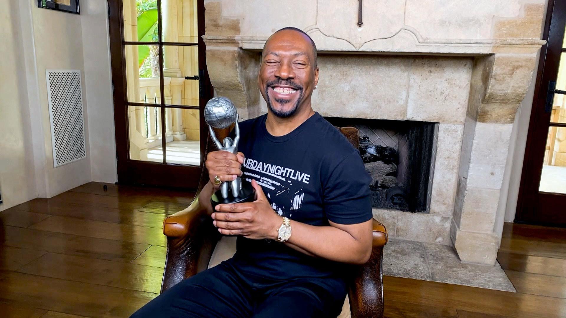 Winning am NAACP award
