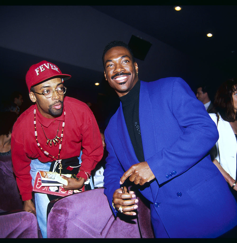 Smiling with Spike Lee