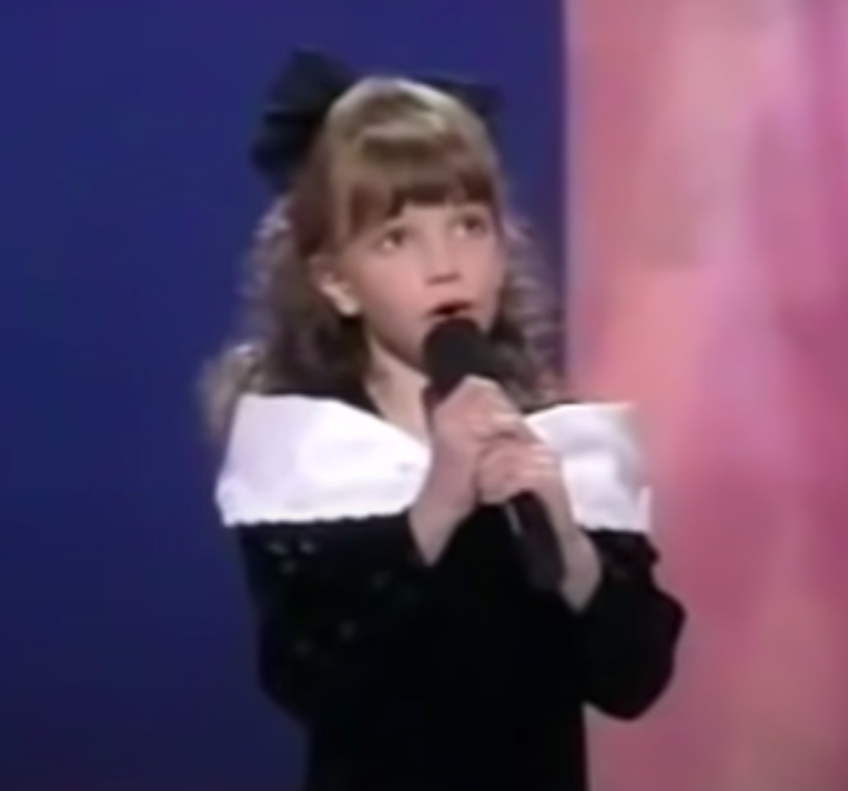 she had a powerful voice
