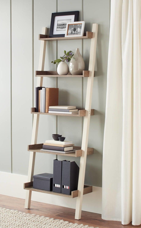 the ladder shelves