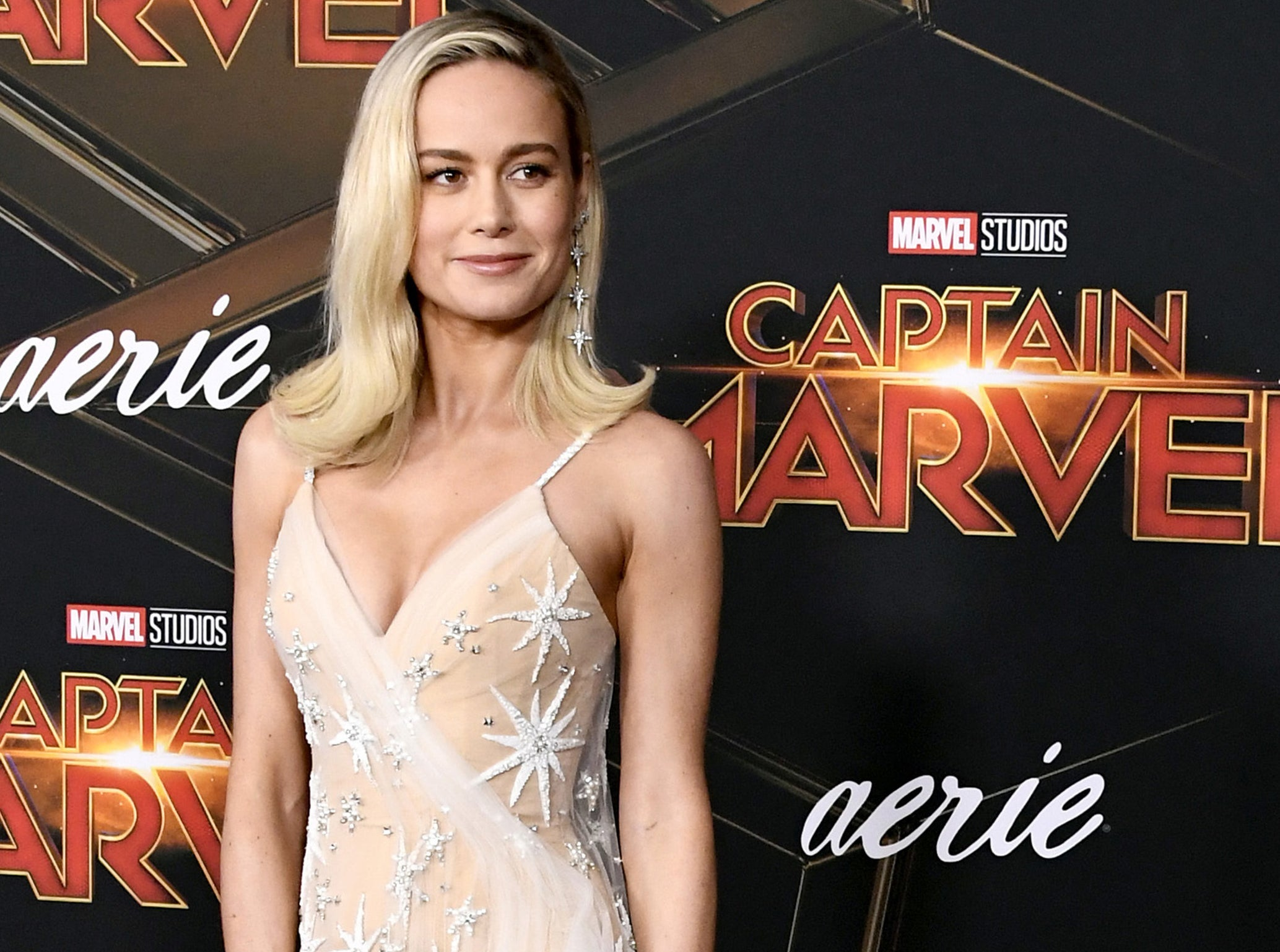Brie attends the Captain Marvel premiere