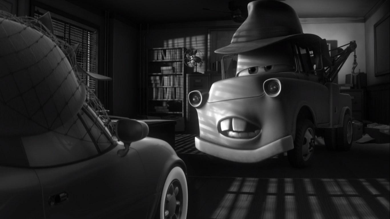 Mater in a film noir