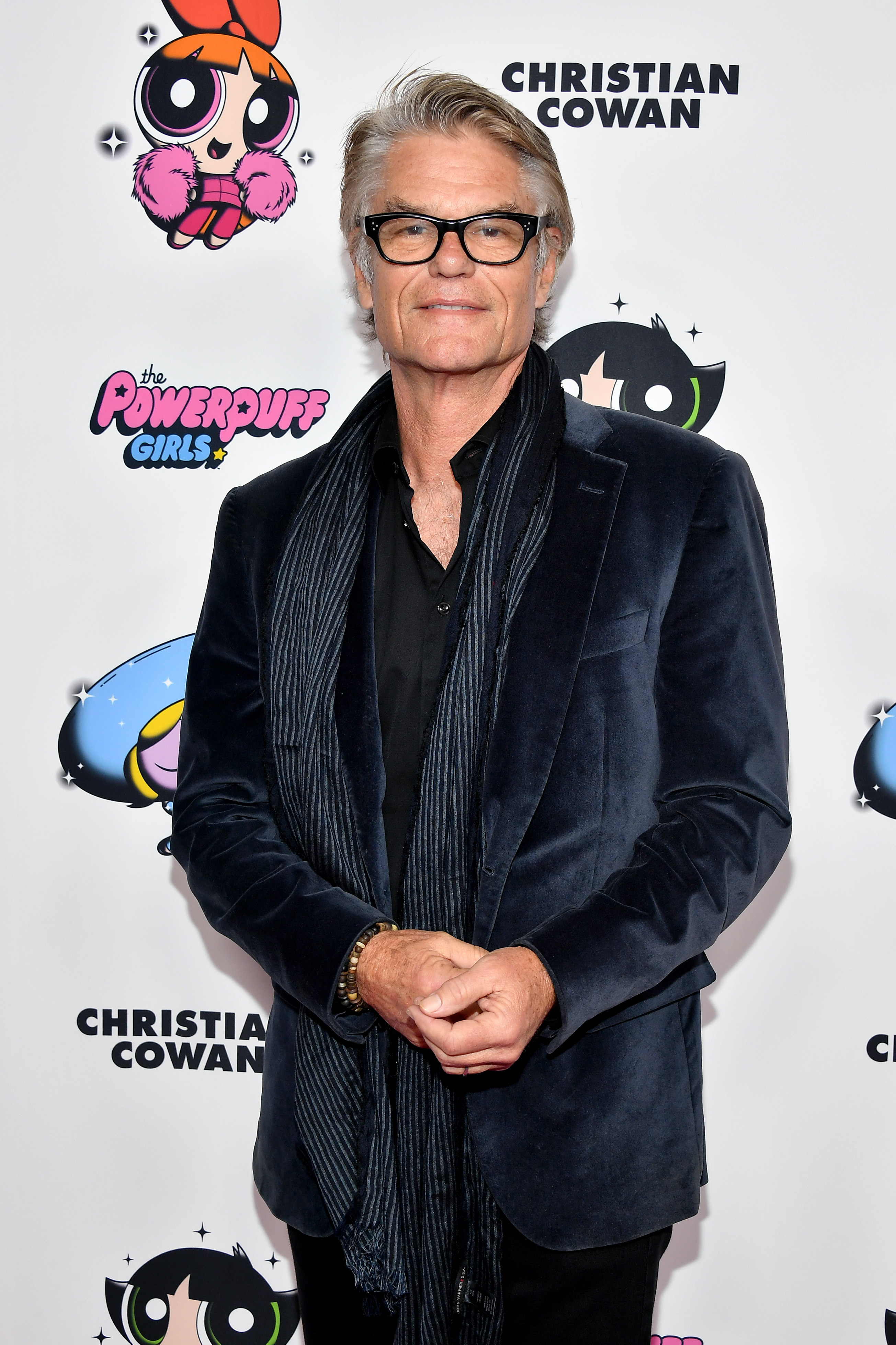 Harry Hamlin attends the 2020 Christian Cowan x Powerpuff Girls Runway Show on March 08, 2020 in Hollywood, California