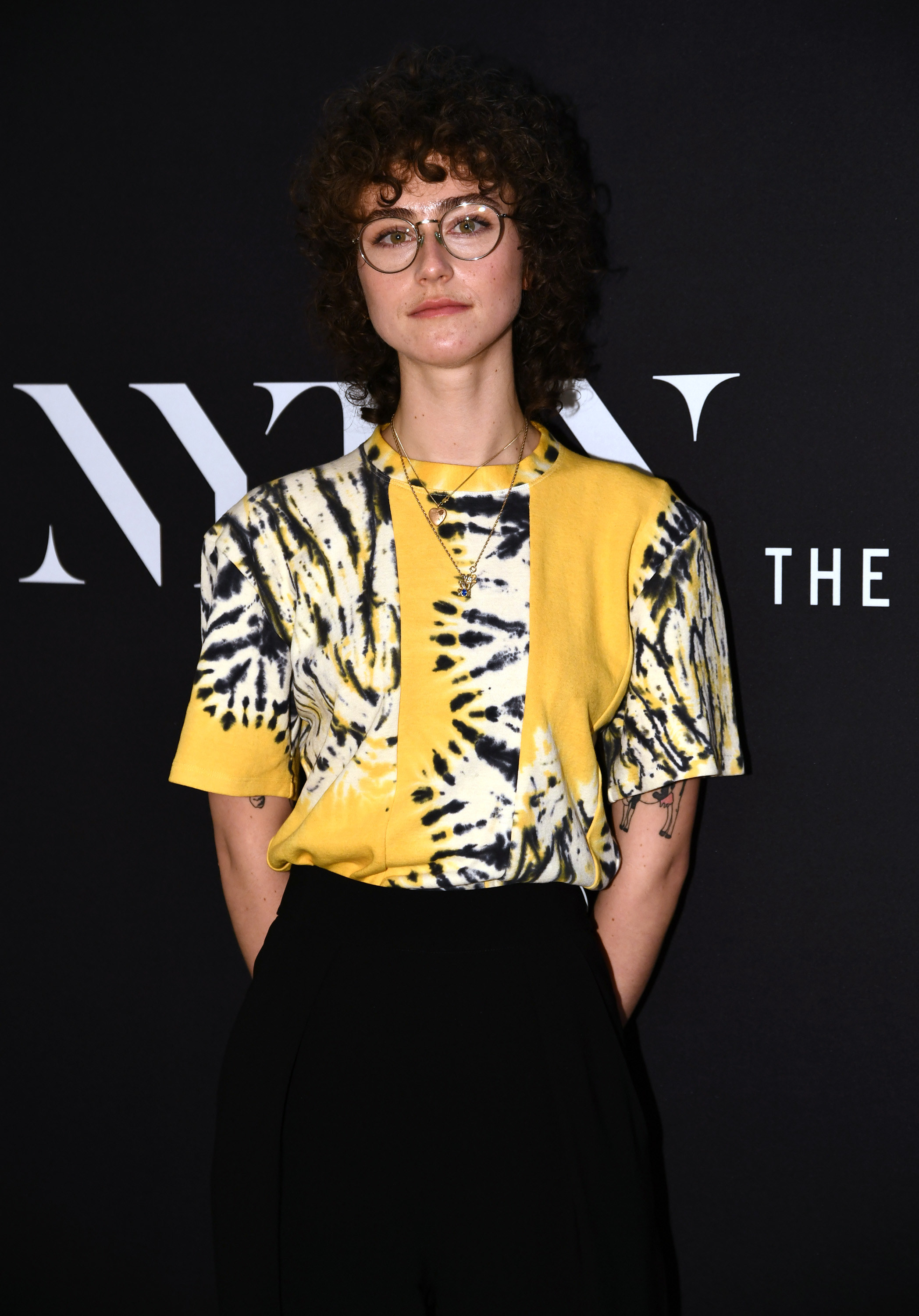 Ella Emhoff attends NYFW The Talks during New York Fashion Week: The Shows February 2021 at Spring Studios on February 15, 2021 in New York City