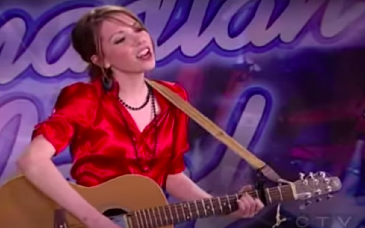 she played guitar for her audition