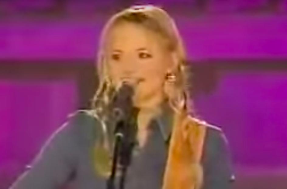 "she sang ""Texas When I Die"""
