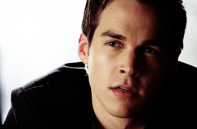 "Chris Wood as Kai Parker in ""The Vampire Diaries"""
