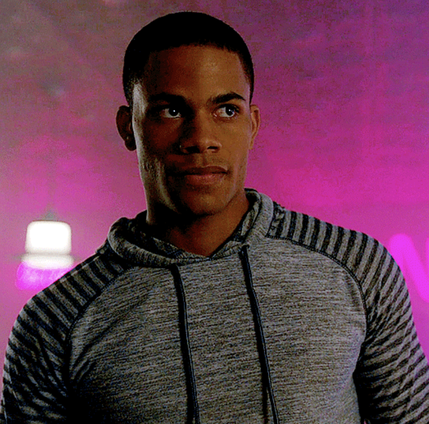 "Jordan Calloway as Chuck Clayton in ""Riverdale"""