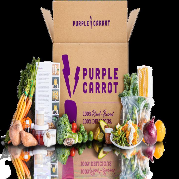 Purple Carrot Box ingredients