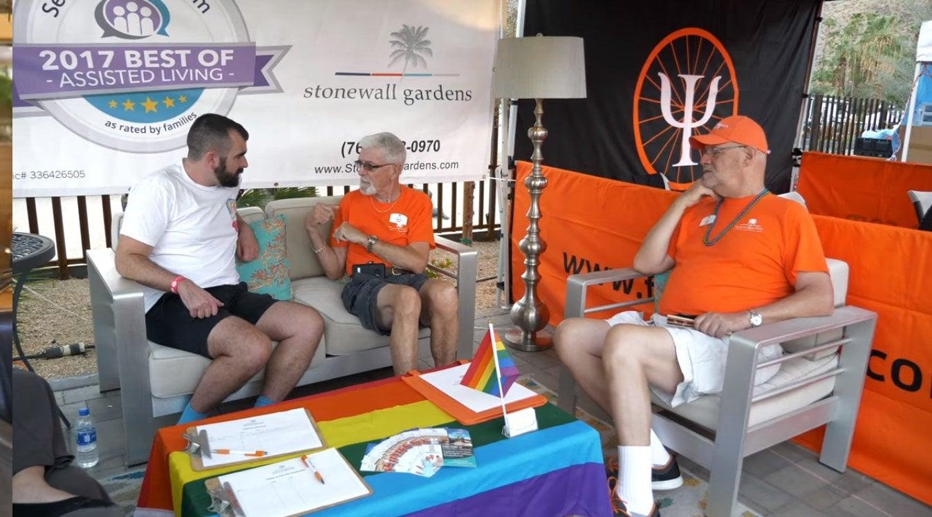 Mark Kenneth Woods speaks to LGBTQ elders