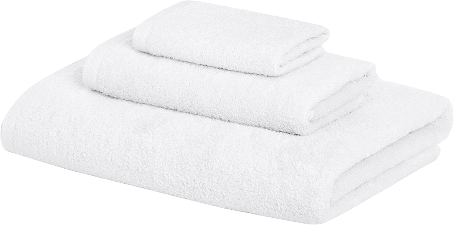 The set of white towels