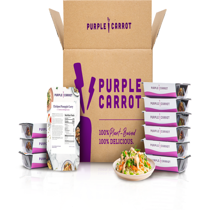 Purple Carrot Box pre-made meals